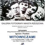 Witowiczowie – zaproszenie na wernisaż wystawy do Galerii Fotografii Miasta Rzeszowa