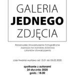 Galeria Jednego Zdjęcia 2018 – 2019 w Galerii Nierzeczywistej